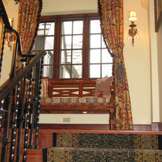 Traditional Staircase by Haffar Interiors, Inc.