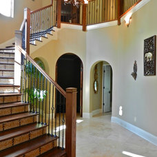 Staircase by Lendry Homes