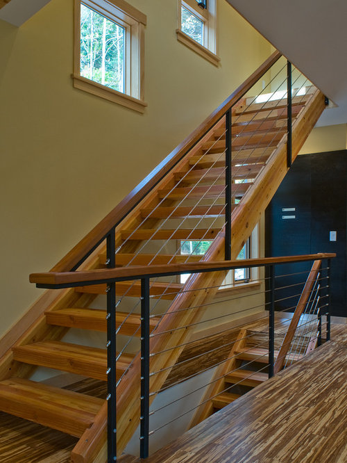 Glulam Stringers Home Design Ideas Pictures Remodel And