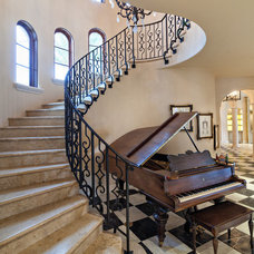Mediterranean Staircase by Architectural Photographer Ron Rosenzweig