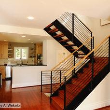 Contemporary Staircase by Shearman Associates PLC