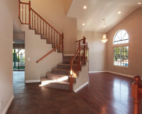 photos et id es d co d 39 escaliers sud ouest am ricain petit budget. Black Bedroom Furniture Sets. Home Design Ideas