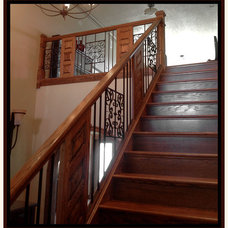 Traditional Staircase by Sherri Fitzgerald - Ultimate Decor