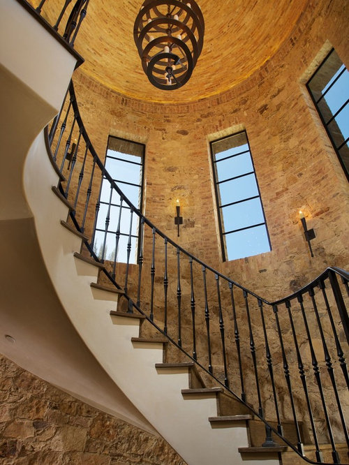 Winding Staircase Houzz