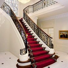 Traditional Staircase by Robert J Erdmann Design, LLC