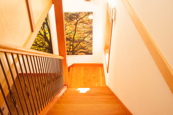 Transitional Staircase by Ryan Nelson Photography