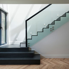 Contemporary Staircase by C O N T E N T Architecture