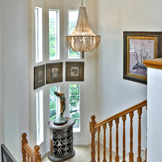 Traditional Staircase by We Got Lites
