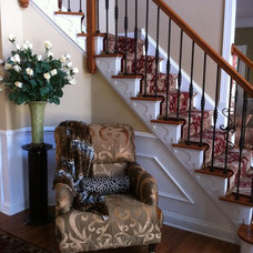 Traditional Staircase by Elegantly Appointed Homes, LLC