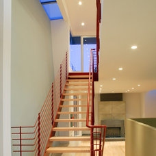 Modern Staircase by Dean Nota Architect
