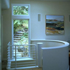 Contemporary Staircase by David Ludwig - Architect