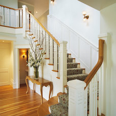 Traditional Staircase by Kerr Construction, Inc.