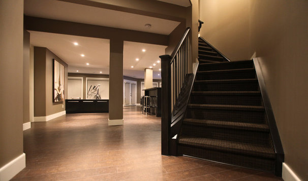 Modern Staircase by Urban Abode