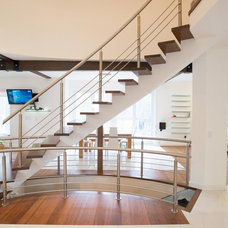 Modern Staircase by Carick Home Improvements