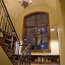 Traditional Staircase by Kieran J. Liebl,  Royal Oaks Design, Inc. MN