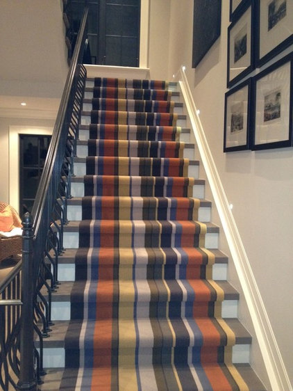 Traditional Staircase by Elte
