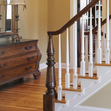 Traditional Staircase by Vujovich Design Build, Inc.