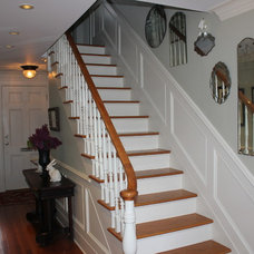 Traditional Staircase by T.J. Russell Electric, LLC