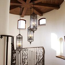 Mediterranean Staircase by Maraya Interior Design