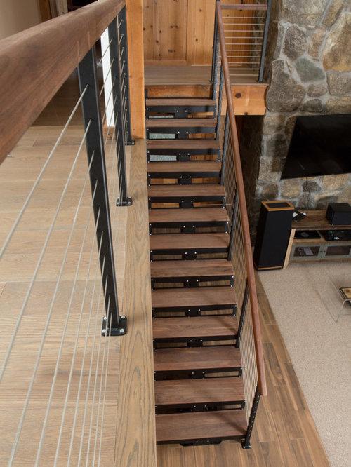 Save. Rustic DIY Floating Stair Kit