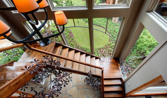 Rustic Low Budget Stair cases