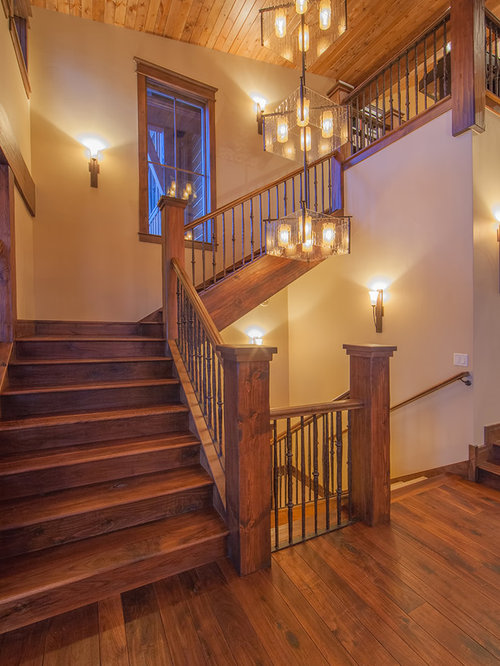 Rustic Staircase Ideas Pictures Remodel And Decor