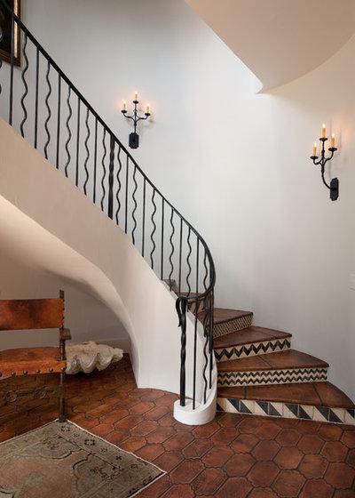 Rustikal Treppen Rustic Staircase. 9. Fliesen