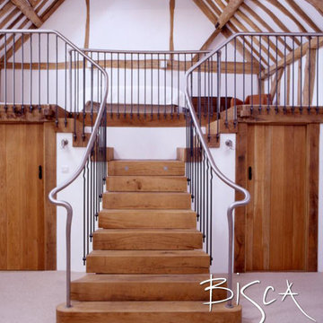 Rustic Staircases for Barn, Farm & Period Properties