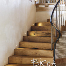 Rustic Staircase by Bisca Staircases