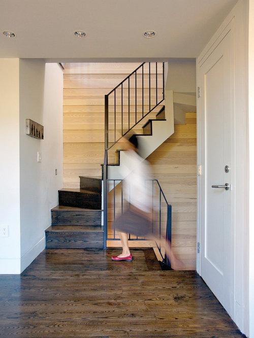 Superior Modern Wooden Staircase Idea In Boston