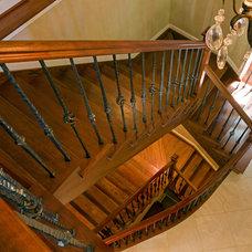 Mediterranean Staircase by HBF plus Design