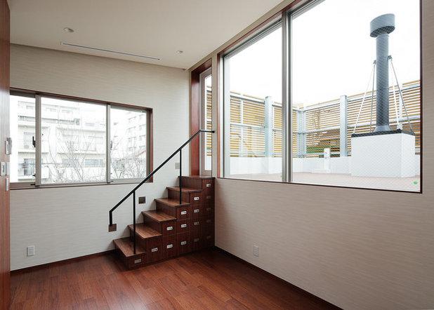 モダン 階段 by ナカノ建築設計事務所