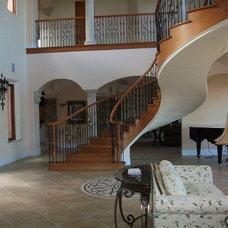 Mediterranean Staircase by Arcways, Inc.