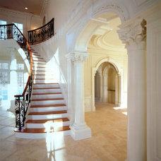 Traditional Staircase by Zampolin Robert E & Associates
