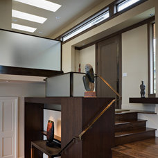 Contemporary Staircase by Roberts Wygal