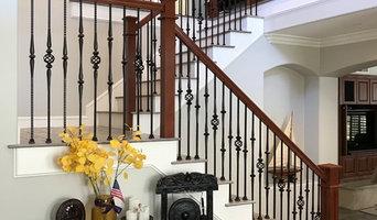 San Clemente Craftsman staircase