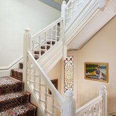 Traditional Staircase by Peter Lyons Photography