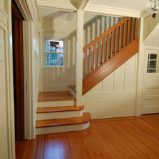 Traditional Staircase by Thompson Studio Architects