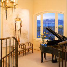 Contemporary Staircase by The Wiseman Group Interior Design, Inc