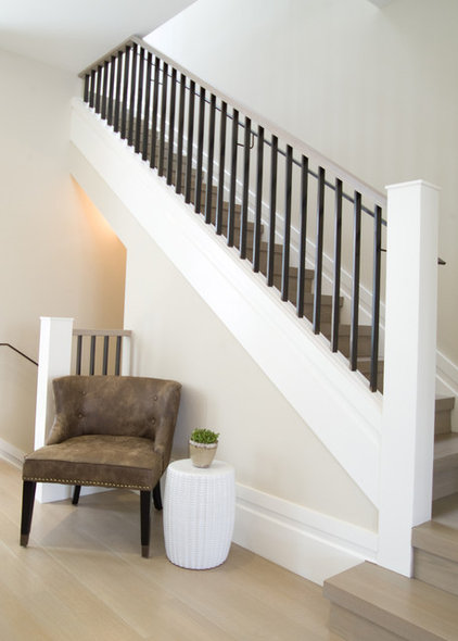 Transitional Staircase by Carol Gillum, CKD