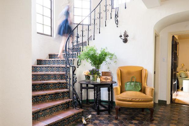 Mediterranean Staircase by Lund & Lund Design