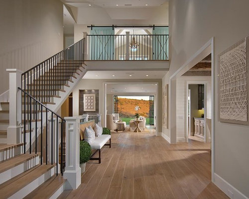 Open Foyer Loft : Two story foyer houzz