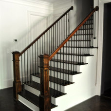 Contemporary Staircase by Direct Build Home Improvement & More