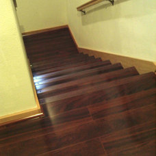 Traditional Staircase by simpleFLOORS