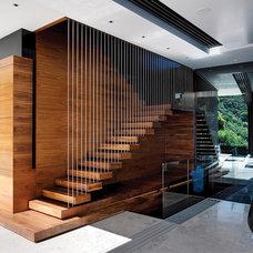 Modern Staircase by SAOTA - Stefan Antoni Olmesdahl Truen Architects