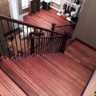 Sapele Stair Projects