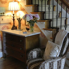 traditional staircase by Ann Neale Interiors