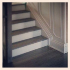 Traditional Staircase by Sarah Ifrah Architect Inc
