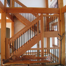 Contemporary Staircase by Tamlin Homes