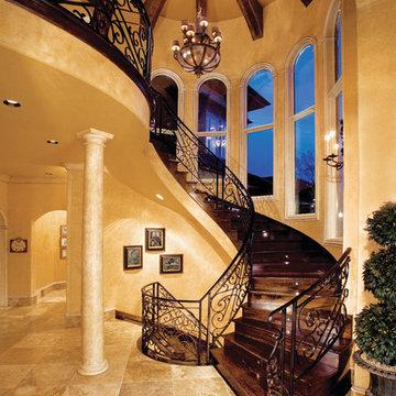 """Sater Design Collection's 8068 """"Villa Sabina"""" Home Plan"""